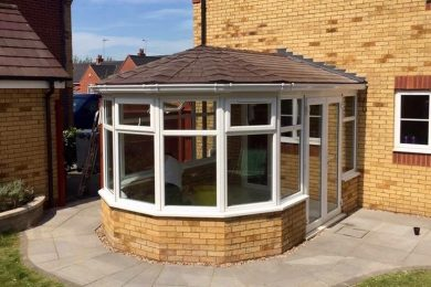Finished Interior 2 from The Warm Conservatory Roof Company's Finished after the Framing