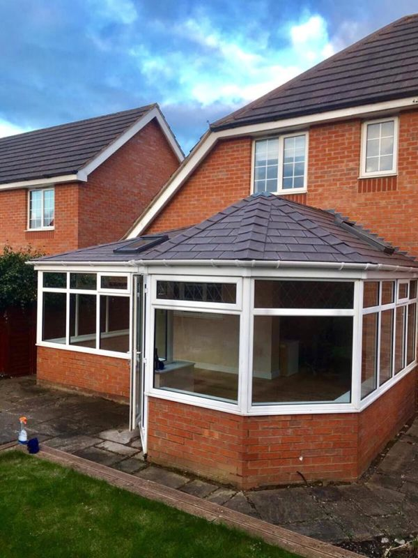 Northampton Warm Conservatory Roof Replacement