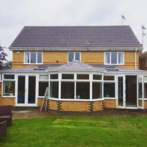 Kettering Warm Conservatory Roof Replacement