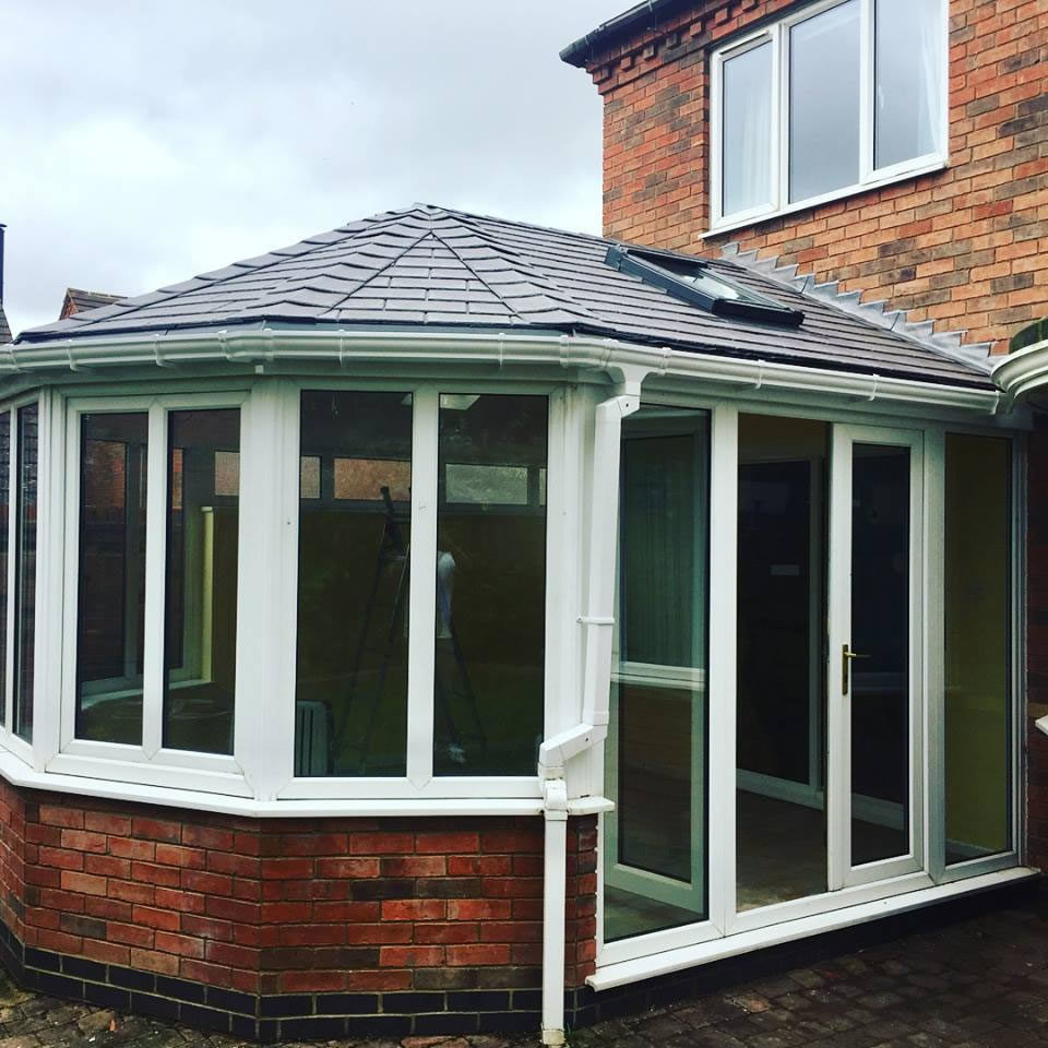 conservatory roof northampton, tapco tiled conservatory roof1