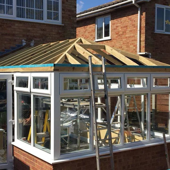 conservatory roof northampton, tapco tiled conservatory roof7