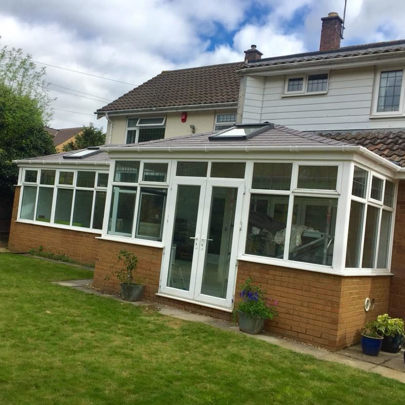 conservatory roof northampton, tapco tiled conservatory roof9